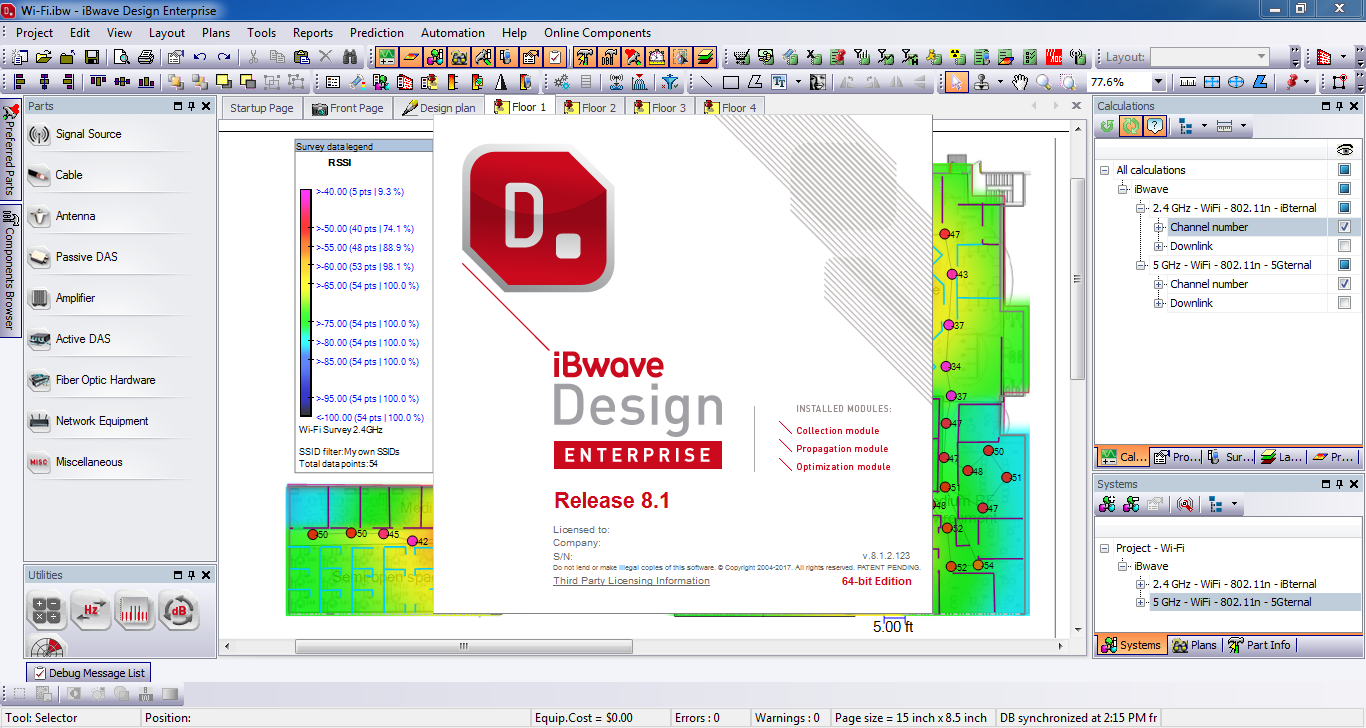 iBwave Design Crack